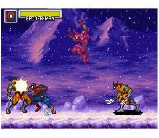 Screenshot Thumbnail / Media File 1 for Marvel Super Heroes - War of the Gems (USA)