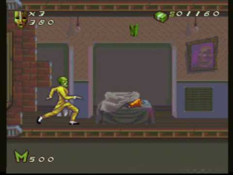 rom snes the mask