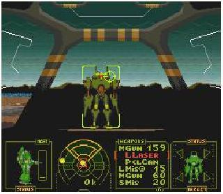 Mechas and Robot games on SNES