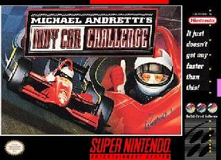 Screenshot Thumbnail / Media File 1 for Michael Andretti's IndyCar Challenge (Japan)
