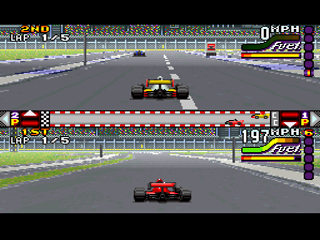 Screenshot Thumbnail / Media File 1 for Michael Andretti's IndyCar Challenge (USA)