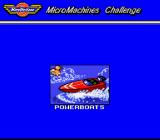 Screenshot Thumbnail / Media File 1 for Micro Machines (Europe)