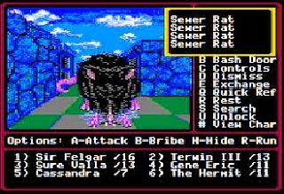 Screenshot Thumbnail / Media File 1 for Might and Magic II - Gates to Another World (Europe)