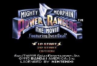 Screenshot Thumbnail / Media File 1 for Mighty Morphin Power Rangers - The Movie (Europe)