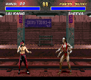 Screenshot Thumbnail / Media File 1 for Mortal Kombat 3 (Europe) (Beta)