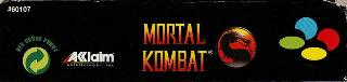 Screenshot Thumbnail / Media File 1 for Mortal Kombat (Europe)