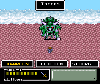 Screenshot Thumbnail / Media File 1 for Mystic Quest Legend (Germany)