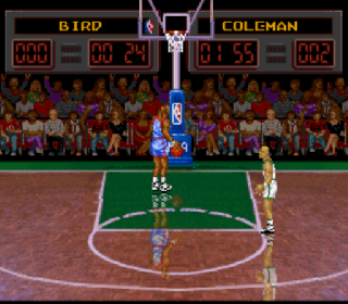 Screenshot Thumbnail / Media File 1 for NBA All-Star Challenge (Japan)