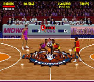 Screenshot Thumbnail / Media File 1 for NBA Give 'n Go (Europe)