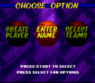 Screenshot Thumbnail / Media File 1 for NBA Hang Time (USA)