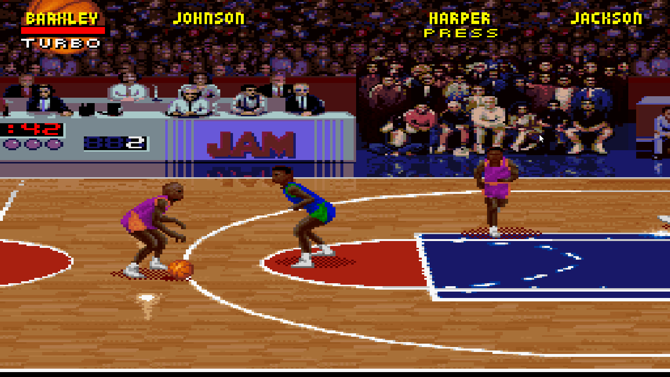 Image result for nba jam snes