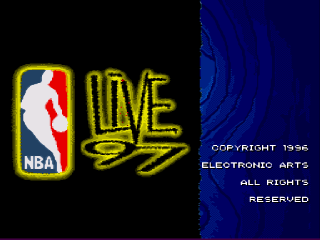 Screenshot Thumbnail / Media File 1 for NBA Live '97 (Europe)
