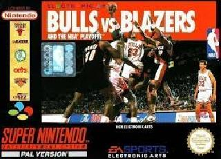 Screenshot Thumbnail / Media File 1 for NBA Pro Basketball - Bulls vs Blazers (Japan)