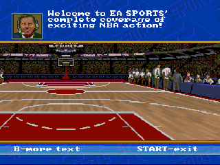Screenshot Thumbnail / Media File 1 for NBA Showdown (USA) (Beta)