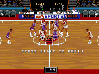Screenshot Thumbnail / Media File 1 for NBA Showdown (USA)