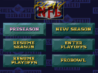 Screenshot Thumbnail / Media File 1 for NFL Quarterback Club (Japan)