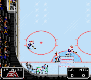 Screenshot Thumbnail / Media File 1 for NHL '94 (Europe)