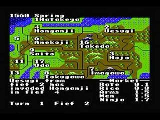 Screenshot Thumbnail / Media File 1 for Nobunaga's Ambition (USA)