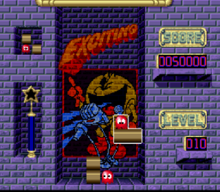 Screenshot Thumbnail / Media File 1 for Pac-Attack (Europe)