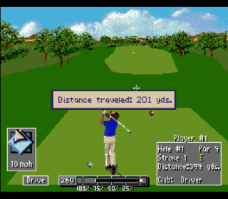 Screenshot Thumbnail / Media File 1 for PGA European Tour (USA)