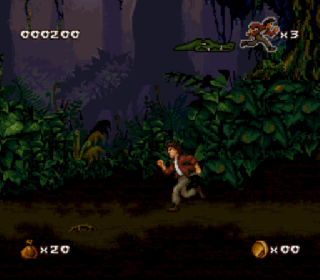 Screenshot Thumbnail / Media File 1 for Pitfall - The Mayan Adventure (Europe)