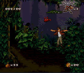 Screenshot Thumbnail / Media File 1 for Pitfall - The Mayan Adventure (USA)