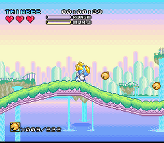 Screenshot Thumbnail / Media File 1 for Pop'n TwinBee - Rainbow Bell Adventures (Germany)