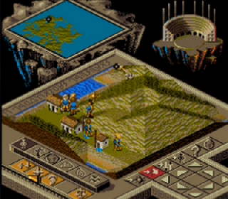Screenshot Thumbnail / Media File 1 for Populous II - Trials of the Olympian Gods (Japan)