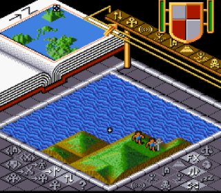 Screenshot Thumbnail / Media File 1 for Populous (USA)