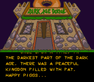 Screenshot Thumbnail / Media File 1 for Power Piggs of the Dark Age (Europe) (Beta)