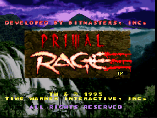 Screenshot Thumbnail / Media File 1 for Primal Rage (Europe)