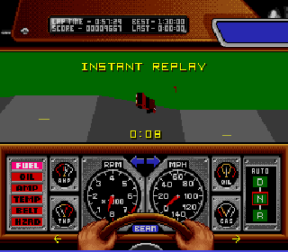 Screenshot Thumbnail / Media File 1 for Race Drivin' (USA)