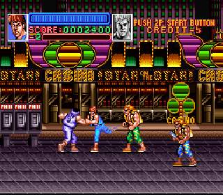 Screenshot Thumbnail / Media File 1 for Return of Double Dragon (Japan)