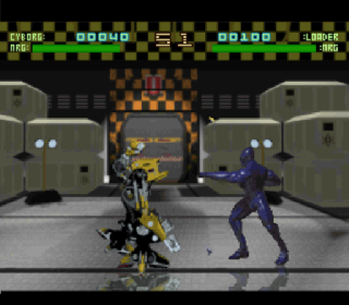 Screenshot Thumbnail / Media File 1 for Rise of the Robots (Japan) (Beta)
