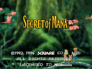 Screenshot Thumbnail / Media File 1 for Secret of Mana (France) (Rev A)
