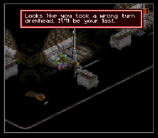 Screenshot Thumbnail / Media File 1 for Shadowrun (USA)