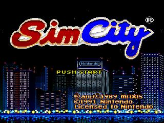 Screenshot Thumbnail / Media File 1 for SimCity (Japan)