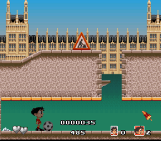 Screenshot Thumbnail / Media File 1 for Soccer Kid (Japan) (Beta)