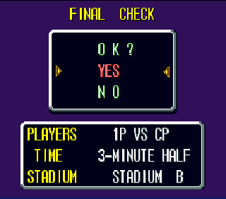 Screenshot Thumbnail / Media File 1 for Soccer Shootout (Europe)