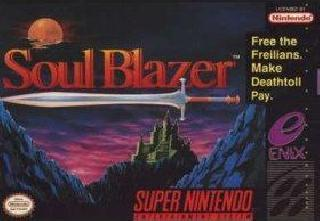 Screenshot Thumbnail / Media File 1 for Soul Blazer (Europe)