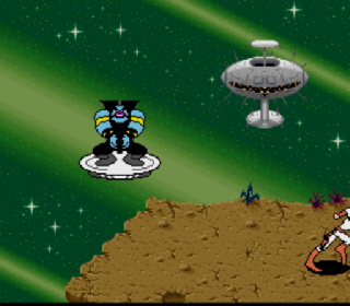 Screenshot Thumbnail / Media File 1 for Space Ace (USA) (Beta)