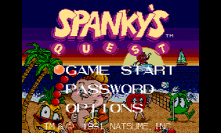 Screenshot Thumbnail / Media File 1 for Spanky's Quest (USA)