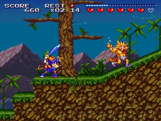 Screenshot Thumbnail / Media File 1 for Sparkster (Japan)