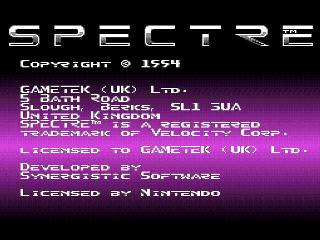 Screenshot Thumbnail / Media File 1 for Spectre (Europe)