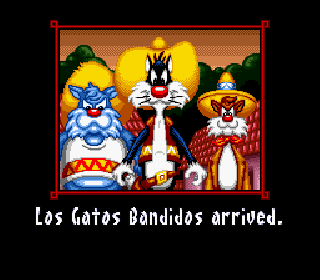 Screenshot Thumbnail / Media File 1 for Speedy Gonzales in Los Gatos Bandidos (USA)