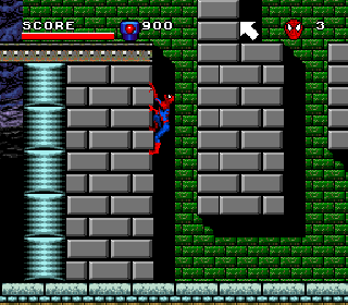 Screenshot Thumbnail / Media File 1 for Spider-Man and the X-Men in Arcade's Revenge (USA)