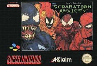 Screenshot Thumbnail / Media File 1 for Spider-Man & Venom - Separation Anxiety (Europe)