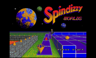 Screenshot Thumbnail / Media File 1 for Spindizzy Worlds (USA)