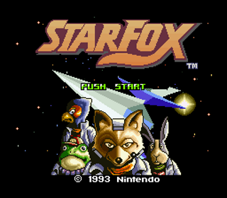 Image result for Star Fox SNES