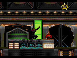 Screenshot Thumbnail / Media File 1 for Star Trek - Deep Space Nine - Crossroads of Time (USA) (Beta)